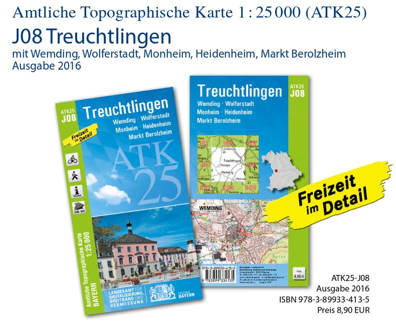 Topographische Karte Bayern.Bayerische Vermessungsverwaltung Aktuelles Meldungen